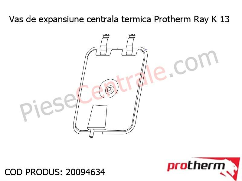 Poza Vas de expansiune centrala termica Protherm Ray K 13