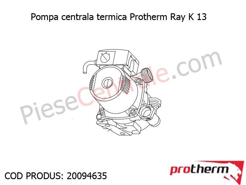 Poza Pompa centrala termica Protherm Ray K 13