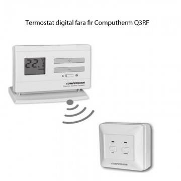 Poza Termostat de ambient digital fara fir Computherm Q3RF